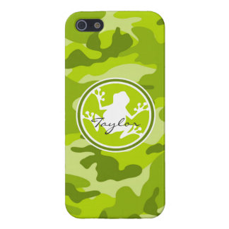 Frog green camo camouflage iPhone 5 case