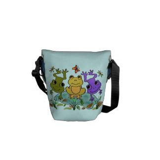 Frog Happy Commuter Bags