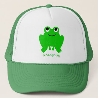 Frog Hat Just Add Name