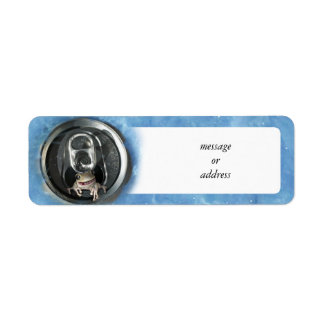 Frog in a  Pop Can (Add Your Text) Return Address Label