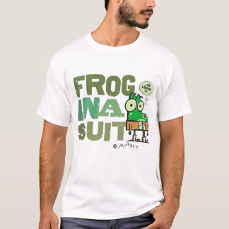 Frog in a Suit Basic T-Shirt