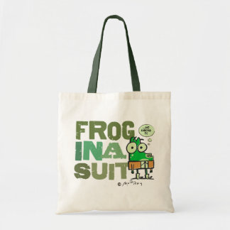 Frog in a Suit Budget Tote Budget Tote Bag