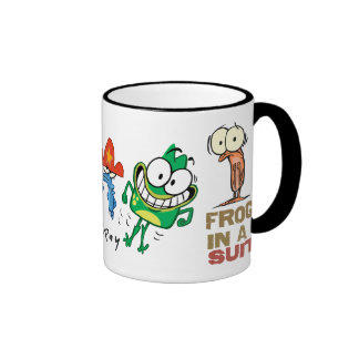 Frog in a Suit Character Mug