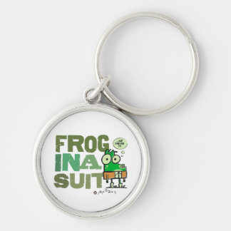 Frog in a Suit Keychain
