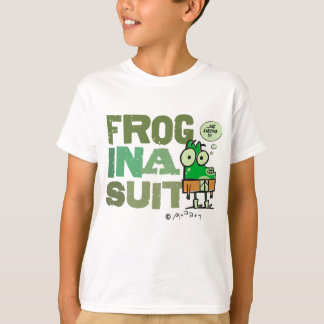 Frog in a Suit Kids T-Shirt
