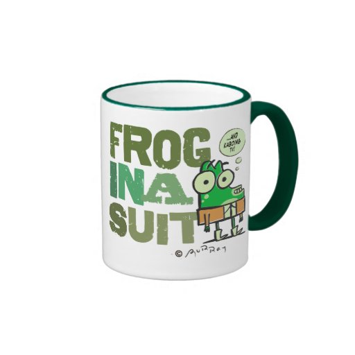 Frog in a Suit Mug