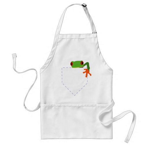 Frog in My Pocket Aprons