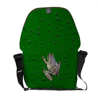 FROG IN THE RAIN COURIER BAG