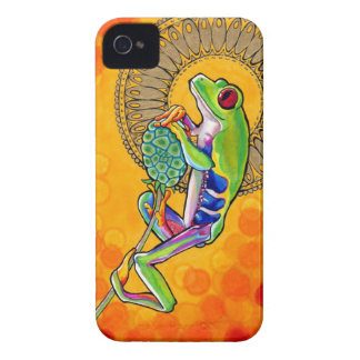 Frog Iphone Case-Mate iPhone 4 Case