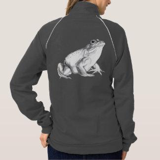 Frog Jacket Bullfrog Art Women's Hooded Jogger