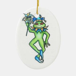 Frog Joker Ornament