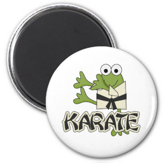 Frog Karate Tshirts and Gifts Magnet