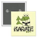 Frog Karate Tshirts and Gifts Pin