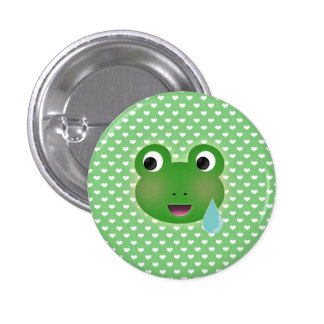 Frog Kawaii 3 Cm Round Badge