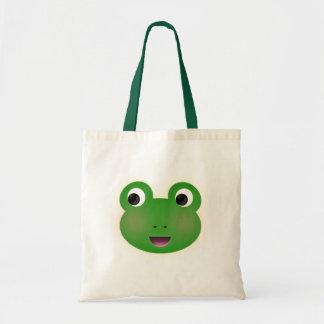 Frog Kawaii Tote Bag