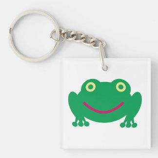 frog acrylic keychains