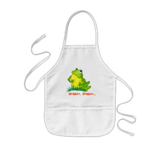 Frog Kids Apron