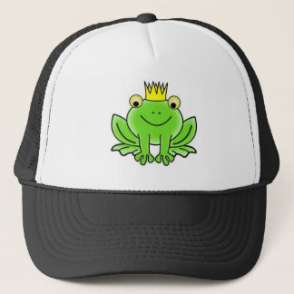 Frog king trucker hat