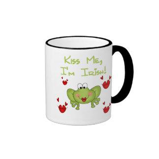 Frog Kiss Me Mug