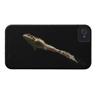 frog leaping off fresh green grass iPhone 4 Case-Mate case