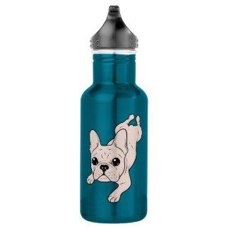 Frog Leg Cream French Bulldog 532 Ml Water Bottle