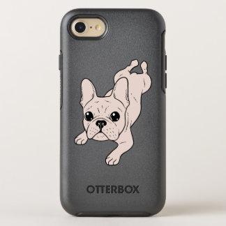 Frog Leg Cream French Bulldog OtterBox Symmetry iPhone 8/7 Case