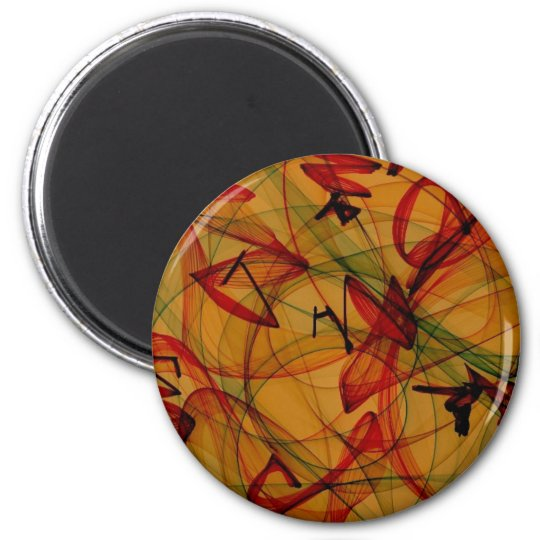 Frog Legs - Abstract Art Magnet