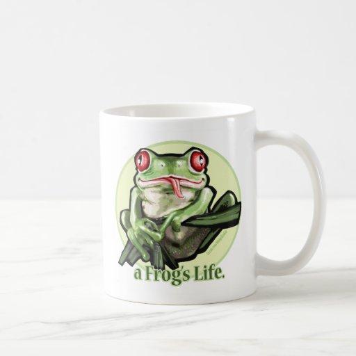 frog_life_zazzle1, frog_life_zazzle2 coffee mug