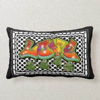 Frog Love Lumbar Cushion