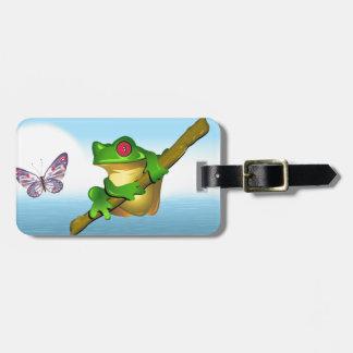 Frog Luggage Tag