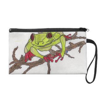 frog makeup bag