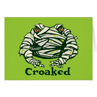 Frog Mummy Card