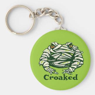 Frog Mummy Key Ring