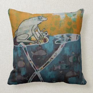 Frog Music Cushion