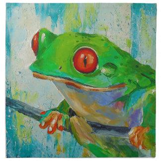 Frog Napkin