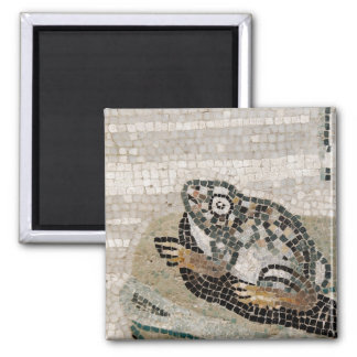 Frog, Nile mosaic, from the House of the Faun Square Magnet