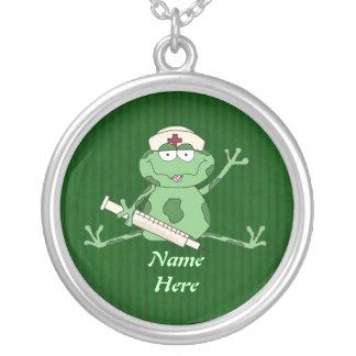 Frog Nurse Necklace