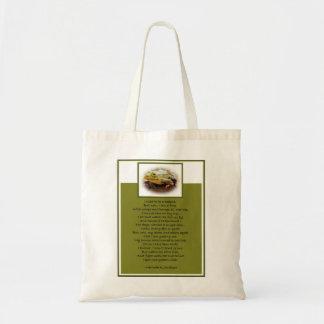 Frog On A Log Budget Tote Bag