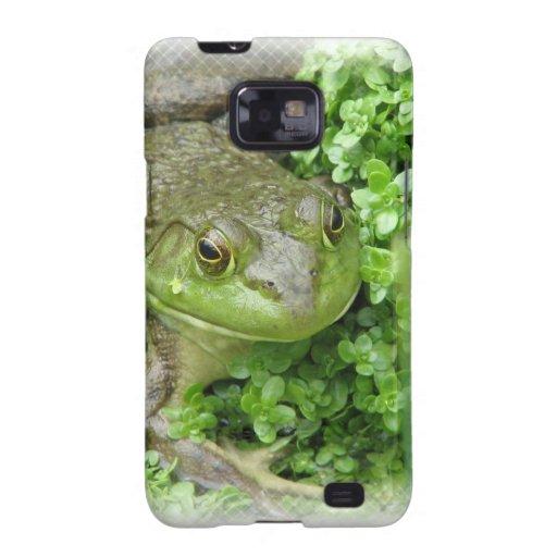 Frog on Marsh Samsung Galaxy Case