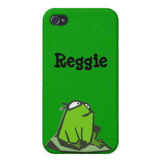 Frog on Rock Cases For iPhone 4