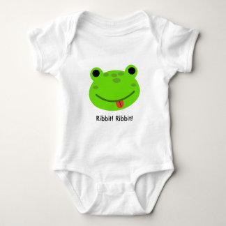 Frog onsie-creeper baby bodysuit