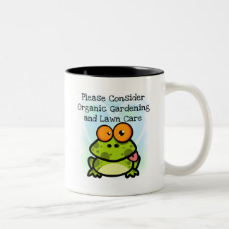 Frog Organic Gardening T-shirts and Gifts Coffee Mugs