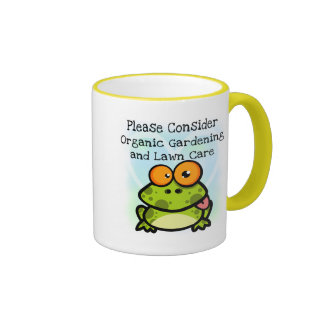 Frog Organic Gardening T-shirts and Gifts Coffee Mug