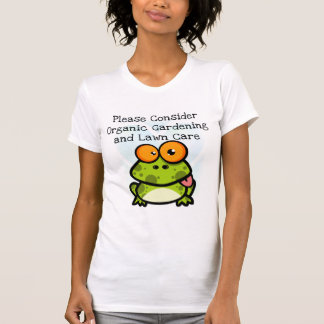 Frog Organic Gardening T-shirts and Gifts