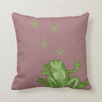 Frog Painting Cushion