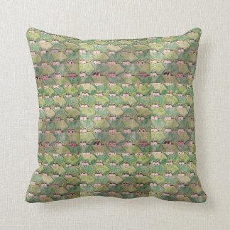 Frog Pillow Throw Cushion