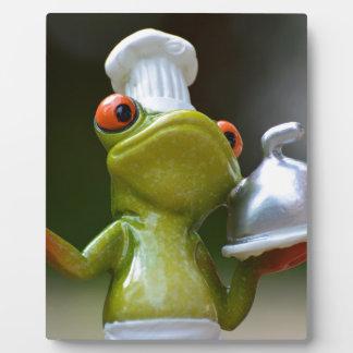 Frog Plaque