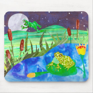Frog Pond Mouse Pad
