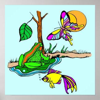 Frog Pond Poster