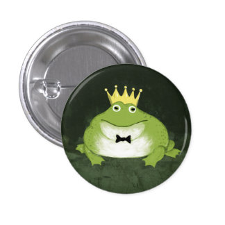Frog Prince 3 Cm Round Badge